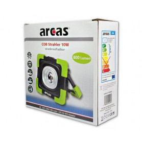arcas, Arcas 10W COB LED flood light with 800 lumens and built-in 3600mAh 3.7V battery, Flashlights, BS147, EtronixCenter.com