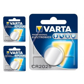 Varta - Varta Professional Electronics CR2025 6025 3V 170mAh knoopcel batterij - Knoopcellen - BS151-3x www.NedRo.nl