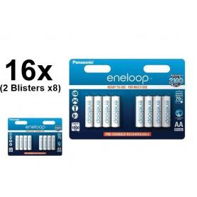 Panasonic - AA HR6 R6 Panasonic Eneloop 1.2V 1900mAh Oplaadbare Batterij - AA formaat - BS150-2x www.NedRo.nl