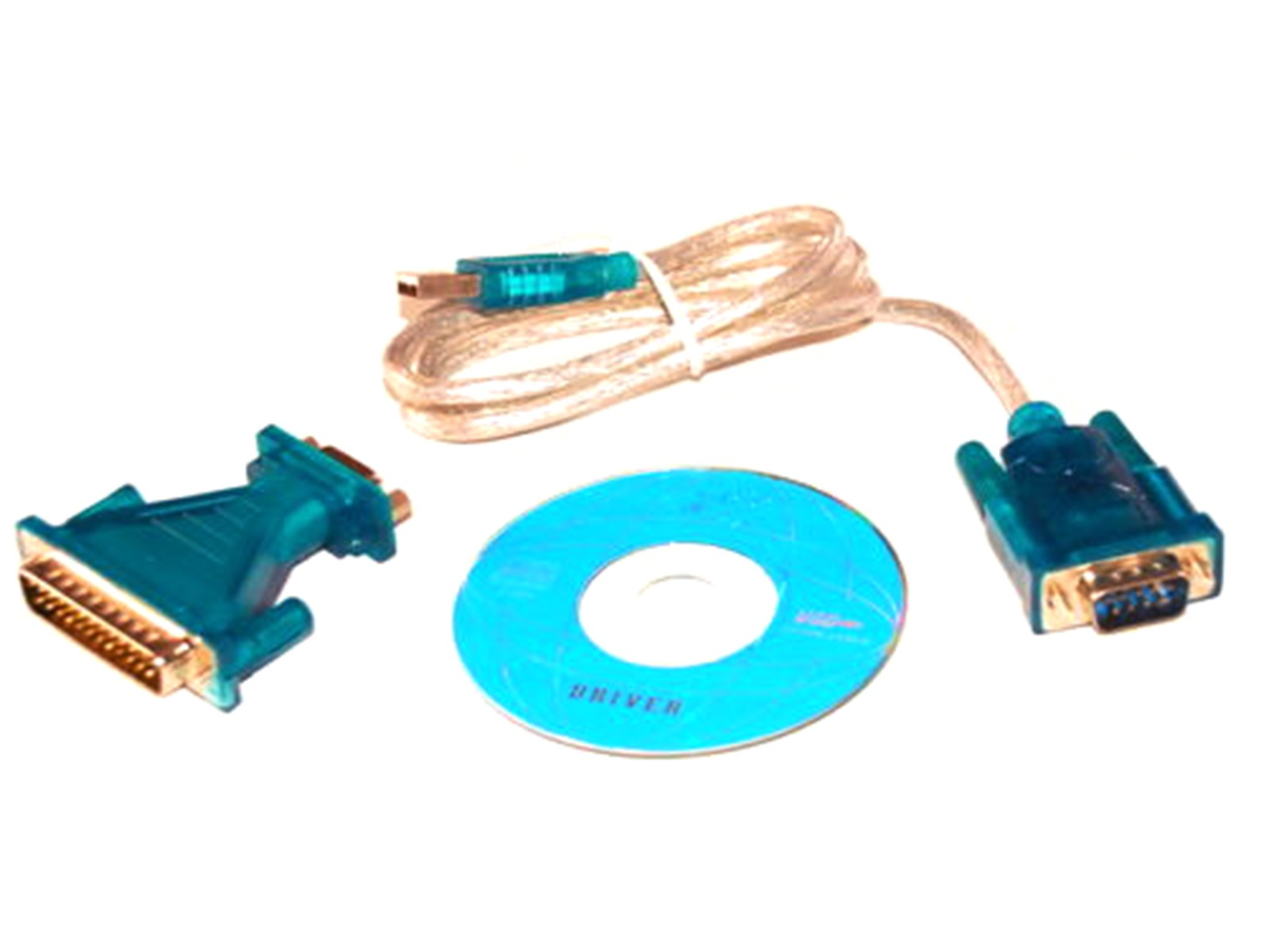 Usb 2.0 To Rs232 Com Port 9 Pin Serial Db25 Db9 Adapter Cable Converter