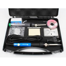 Oem - 60W 220V 110V Adjustable Temperature Electric Soldering Iron Kit - Soldering guns - AL1102