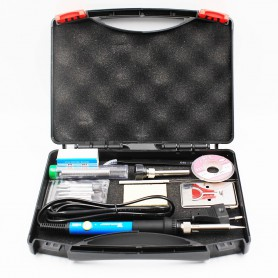NedRo, 60W 220V 110V Adjustable Temperature Electric Soldering Iron Kit, Soldering guns, AL1102, EtronixCenter.com