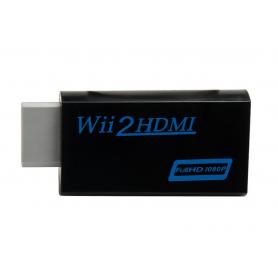 NedRo, Adaptor convertor consola Nintendo Wii la Hdmi Cu 3.5mm audio output 1080p, Nintendo Wii, AL090-CB, EtronixCenter.com