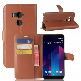 NedRo - Elite leer bookstyle case voor HTC U11 Eyes - HTC telefoonhoesjes - AL1006-CB www.NedRo.nl