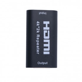 Oem - Mini HDMI Extender Repeater 1080P 4K*2K 3D HDMI Adapter Signal Amplifier Booster 4.95Gbps - HDMI adapters - AL1007