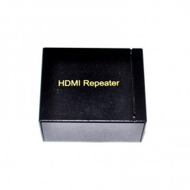 Oem - HDMI Signal Amplifier Repeater Booster Adapter Connector for 1080P Xbox 360 DVD Monitor Extension PS3 - HDMI adapters -...