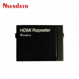 NedRo, HDMI Signal Amplifier Repeater Booster Adapter Connector for 1080P Xbox 360 DVD Monitor Extension PS3, HDMI adapters, ...