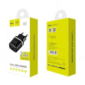 HOCO - HOCO Smart dual USB charger 5V 2.4A - Ac charger - H036-CB