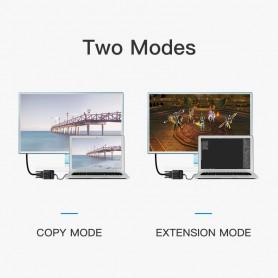 Vention, Displayport Male - VGA Female DP la VGA Converter, DVI si DisplayPort adaptoare, V062, EtronixCenter.com