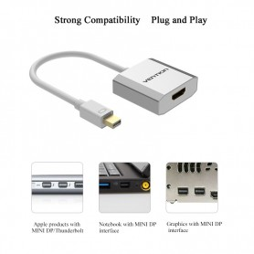 Vention, Mini DisplayPort Male To HDMI Adapter Female, HDMI adapters, V061