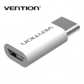 Vention - Micro USB 2.0 B Female to USB Type C Male Adapter - USB adapters - V074-CB