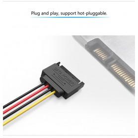 Vention, 15-Pin Mannelijke naar Vrouwelijke SATA-harde schijfkabel voeding uitbreiding, Molex en Sata kabels, V080, EtronixCe...
