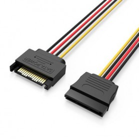 Vention, 15-Pin Male to Female SATA hard disc cable power supply extension, Molex and Sata Cables, V080