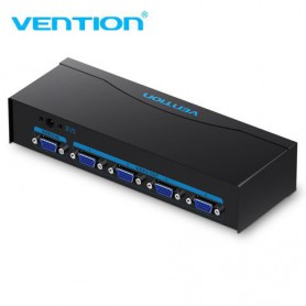 Vention, VGA Female Splitter cu sursă de alimentare 1 intare si 4 iesiri (1 IN-4 OUT), Adaptoare VGA , V082, EtronixCenter.com