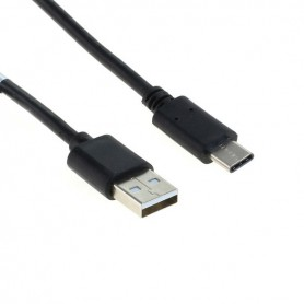 OTB, Datakabel USB Type-C (USB-C) Male naar USB A (USB-A 2.0) Male 1M, Diverse datakabels, ON6014, EtronixCenter.com
