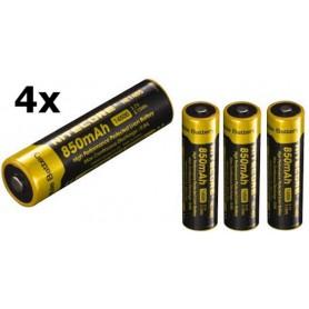 NITECORE - Nitecore NL1485 14500 850mah 3.7V Li-ion oplaadbaar batterij - Andere formaten - BS163-CB www.NedRo.nl