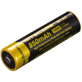 NITECORE - Nitecore NL1485 14500 850mah 3.7V Li-ion rechargeable battery - Other formats - MF002-CB www.NedRo.us
