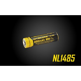 NITECORE, Nitecore NL1485 14500 850mah 3.7V Li-ion oplaadbaar batterij, Andere formaten, BS163-CB, EtronixCenter.com