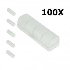 KeepPower - KeepPower PVC transportdoos voor 18650-batterijen met PCB tot 69mm Lengte - Batterijen accessories - NK384-CB www...