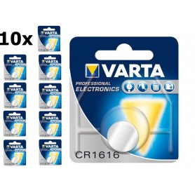 Varta, Baterie profesională Varta CR2016 6016, Baterii plate, BS166-CB, EtronixCenter.com