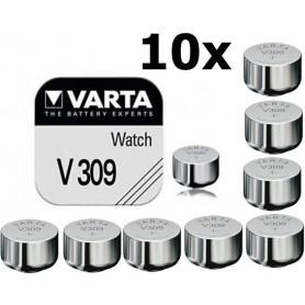 Varta - Varta V309 1.55V 70mAh horloge knoopcel batterij - Knoopcellen - ON1630-CB www.NedRo.nl