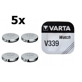 Varta, Varta Watch Battery V339 11mAh 1.55V, Button cells, BS174-CB, EtronixCenter.com