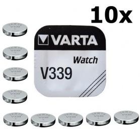 Varta - Varta Watch Battery V339 11mAh 1.55V - Button cells - BS174-C www.NedRo.us