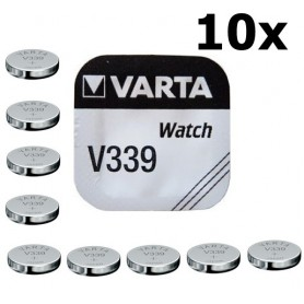 Varta - Varta Watch Battery V339 11mAh 1.55V - Button cells - BS174-CB www.NedRo.us