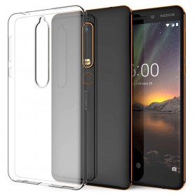 OTB, TPU case voor Nokia 6 (2018), Nokia telefoonhoesjes, ON4896, EtronixCenter.com