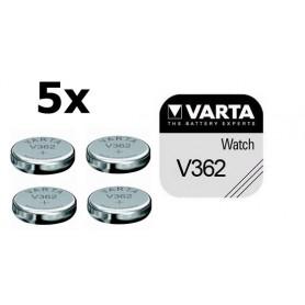 Varta, Varta V362 21mAh 1.55V baterie pentru ceas, Baterii plate, BS179-CB, EtronixCenter.com