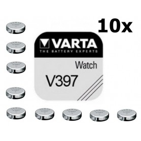 Varta - Varta V397 30mAh 1.55V baterie pentru ceas - Baterii plate - BS181-C www.NedRo.ro