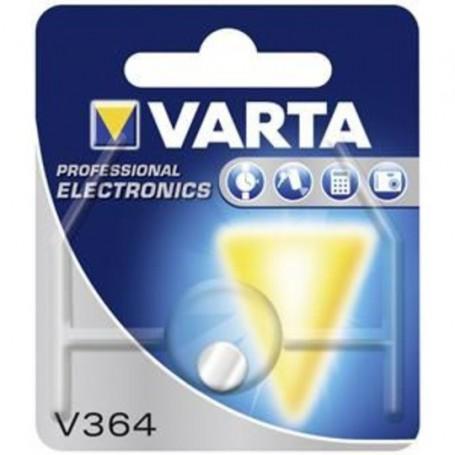 Varta, Varta V364 20mAh 1.55V knoopcel batterij, Knoopcellen, BS183-CB, EtronixCenter.com