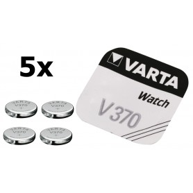 Varta, Varta Watch Battery V370 30mAh 1.55V, Button cells, BS187-CB, EtronixCenter.com