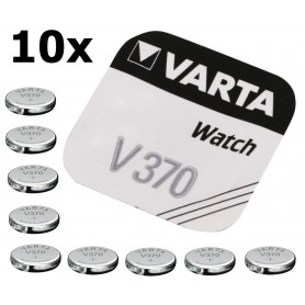 Varta, Varta V370 30mAh 1.55V baterie pentru ceas, Baterii plate, BS187-CB, EtronixCenter.com