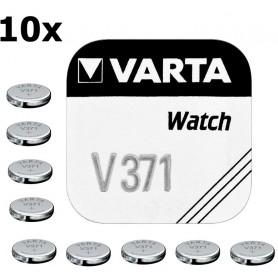 Varta - Varta V371 44mAh 1.55V baterie pentru ceas - Baterii plate - BS189-C www.NedRo.ro