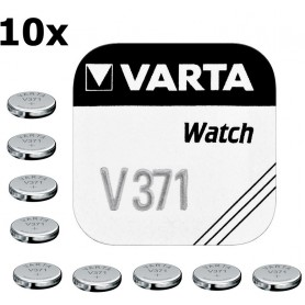 Varta, Varta Watch Battery V371 44mAh 1.55V, Button cells, BS189-CB, EtronixCenter.com