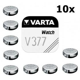 Varta, Varta V377 27mAh 1.55V baterie pentru ceas, Baterii plate, BS193-CB, EtronixCenter.com