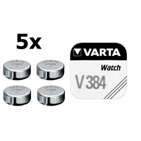 Varta, Varta Watch Battery V384 38mAh 1.55V, Button cells, BS197-CB, EtronixCenter.com