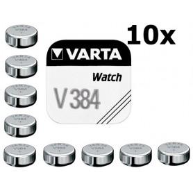 Varta - Varta V384 38mAh 1.55V baterie pentru ceas - Baterii plate - BS197-C www.NedRo.ro