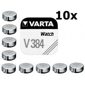 Varta, Varta V384 38mAh 1.55V baterie pentru ceas, Baterii plate, BS197-CB, EtronixCenter.com