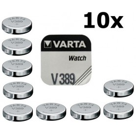 Varta, Varta Watch Battery V389 85mAh 1.55V, Button cells, BS199-CB, EtronixCenter.com