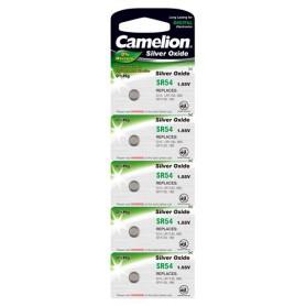 Camelion - Camelion Silver Oxide SR54W/389 1.55V Watch Battery - Button cells - BS202-CB