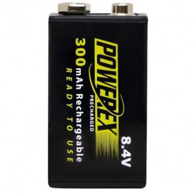POWEREX, Powerex Precharged 8.4V 300mAh oplaadbaar, Andere formaten, NK275-CB, EtronixCenter.com