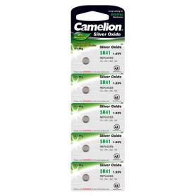 Camelion Silver Oxide SR41W/392 1.55V knoopcel batterij