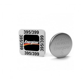 Energizer Watch Battery 395 / 399 SR927SW 52mAh 1.55V