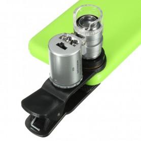 NedRo, 8MM 60x Zoom microscoop loep loeplens met LED UV, Loepen en Microscopen, AL465-CB, EtronixCenter.com