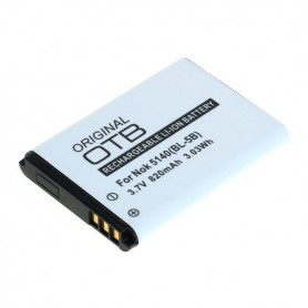 OTB, Battery for NOKIA 5140/6020/7260/5320 (BL-5B) 820mAh 3.7V Li-Ion, Nokia phone batteries, ON6036