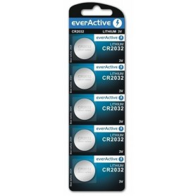 EverActive, everActive CR2032 battery 225mAh 3V, Button cells, BL053-CB, EtronixCenter.com