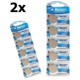 Oem - Rocket battery CR2032 3V Litium - Button cells - NK013-CB