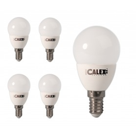 Calex - Calex Daylight LED Lamp 240V 4,5W 380lm E14 P45, 6500K - E14 LED - CA0107-CB www.NedRo.us